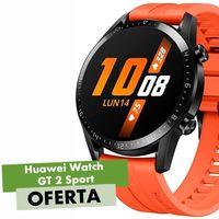 Este Huawei Watch GT 2 Sport por 119,52 euros es un auténtico chollazo. Te espera en AliExpress Plaza si usas el cupón PIDEJULIO10 al pedirlo