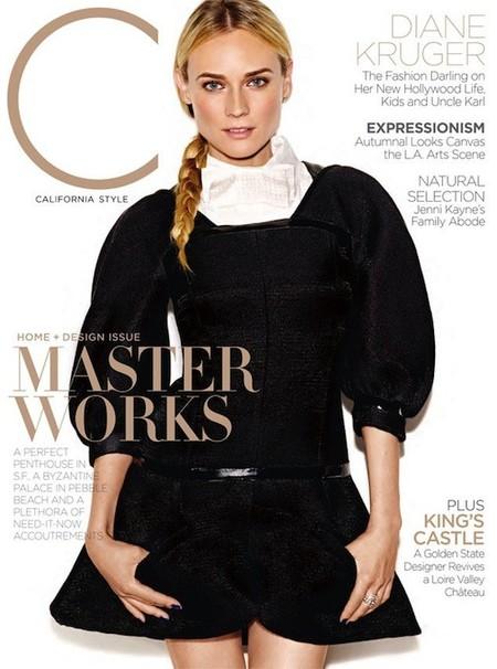 Diane Kruger, con o sin magulladuras en la cara, sigue estando de toma pan y moja