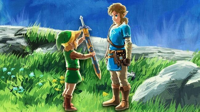 Zelda: Breath of the Wild ya es el segundo juego más vendido de toda la saga
