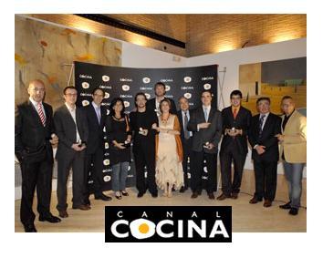 Iv premios canal cocina for Canal cocina en directo