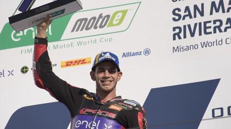 Jordi Torres se proclama campeón de MotoE por segunda vez tras una jugada sucia de Dominique Aegerter