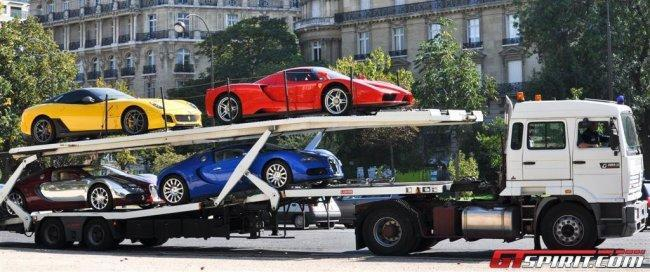 Teodoro Obiang Nguema Mbasogo cars in Paris