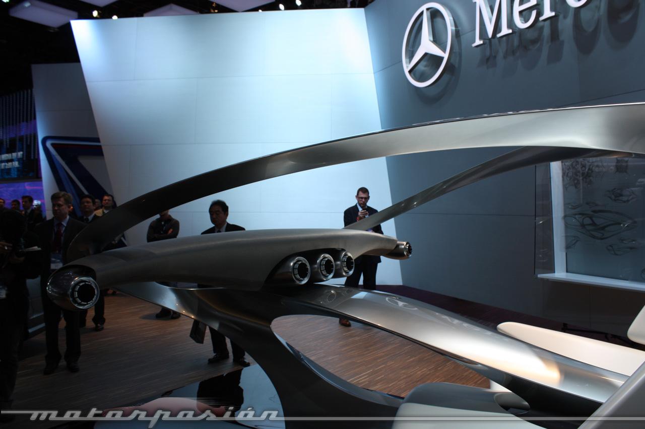 Foto de Mercedes Aesthetics II y SLS AMG E-Cell en el Salón de Detroit (1/33)