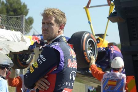 Gerhard Berger cree que Sebastian Vettel se está frustrando