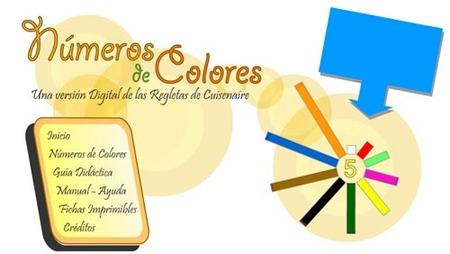 Números de colores: una web didáctica para aprender matemática