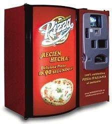 Wonder Pizza, una máquina expendedora de pizzas recién hechas