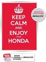 Honda incorpora un seguro de moto con localizador