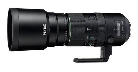 Pentax D Fa 150 450mm F4 5 5 6 Lens