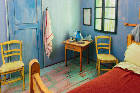 La habitación en Arlés de Van Gogh