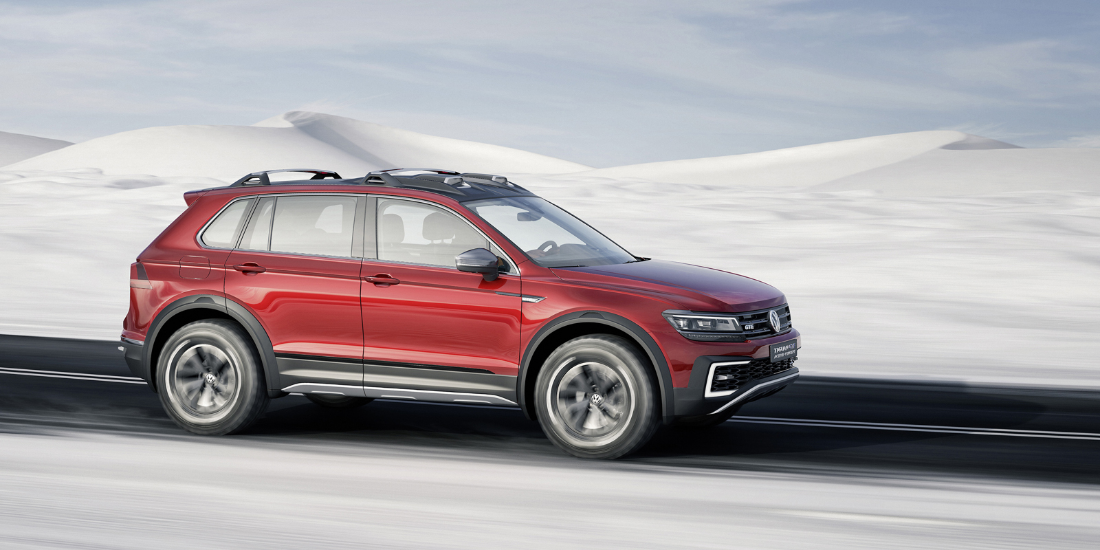 Foto de Volkswagen Tiguan GTE Active Concept (6/11)