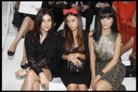 Front-row de lujo para una colección impecable: Chanel