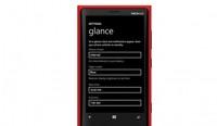 Podrás elegir colores para Glance Screen en modo noche con Bitersweet shimmer (GDR3)