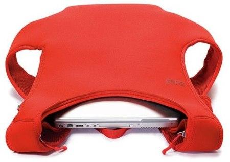 Built Laptop Backpack, mochila para el portátil delgada y minimalista
