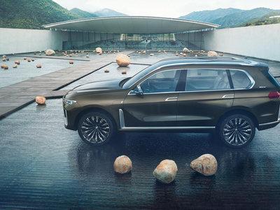 BMW Concept X7 iPerformance, el prototipo que adelanta cómo será en 2018 el BMW X7
