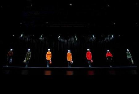El vídeo del desfile Burberry en Beijing: abrigos y pompas de jabón