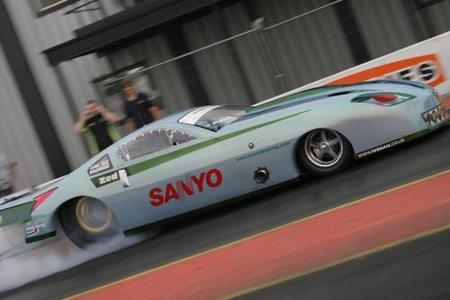 Nissan 350Z con 1.900 caballos para hacer 0 a 100 en 1,2 segundos