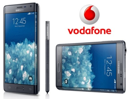 Precios Samsung Galaxy Note Edge en exclusiva con Vodafone