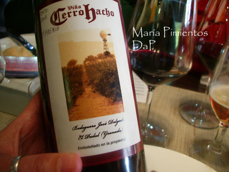el vino del terreno