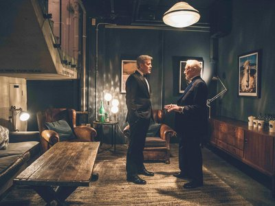 George Clooney y Buzz Aldrin celebran el aniversario 48 de la llegada del hombre a la luna junto a OMEGA