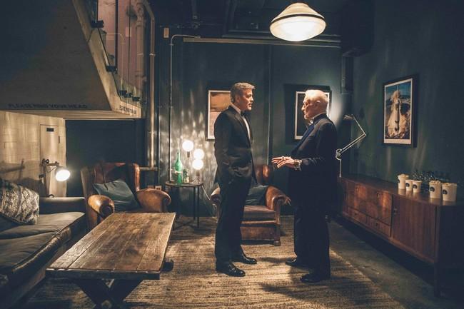 George Clooney Y Buzz Aldrin Celebran La Llegada Del Hombre A La Luna Junto A Omega