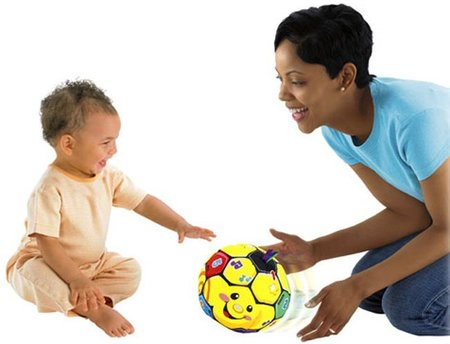pelota bota a bota fisher-price