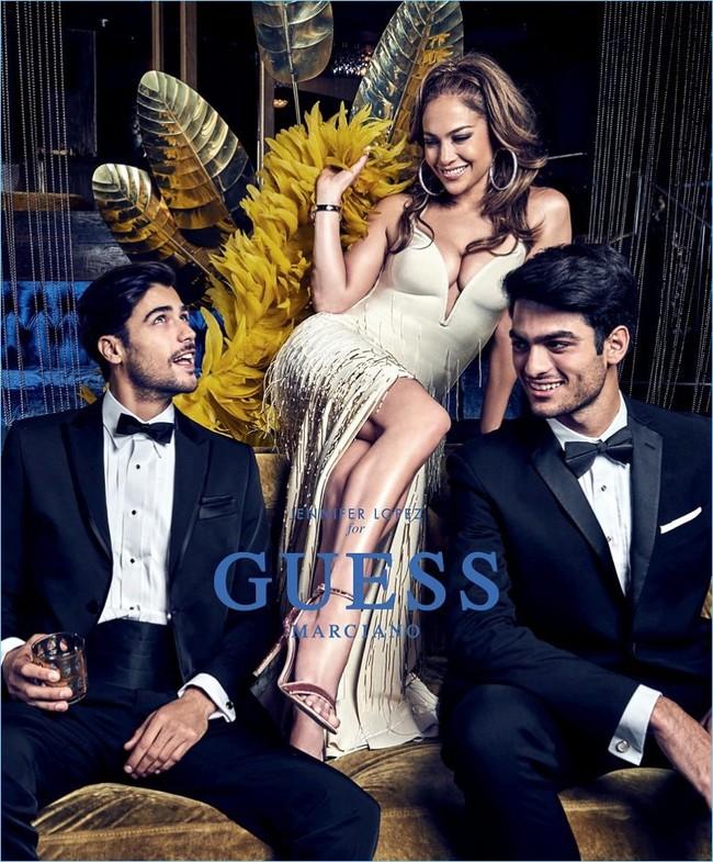 Jennifer López protagoniza la campaña masculina de Guess para la primavera-verano 2018