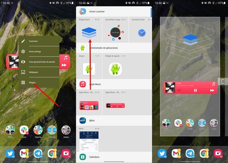 Action Launcher Widgets