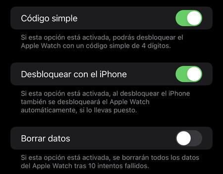 ajuste Apple Watch