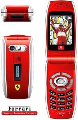 Vodafone Sharp GX25 Ferrari en liquidación