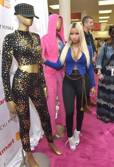 Drama apocalíptico: el horterismo de Nicki Minaj se extiende... ¡Se ha hecho diseñadora!