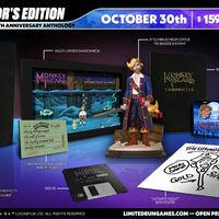 Monkey Island Anthology celebrará el 30 aniversario de la saga con una fabulosa edición de coleccionista que llegará este mes