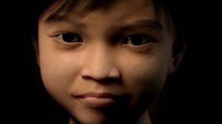 Contra los pedófilos, niña virtual