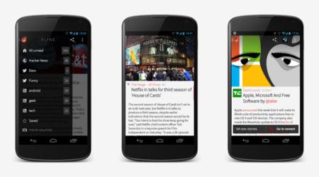 Interfaz de Flyne para Android