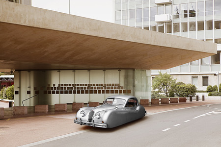 Renaud Marion Jaguar Xk140 Fixed Head Coupe