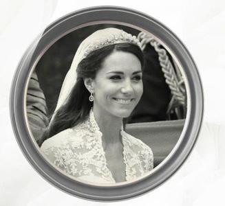 The Halo Tiara, la tiara de diamantes que lució Kate Middleton en su boda