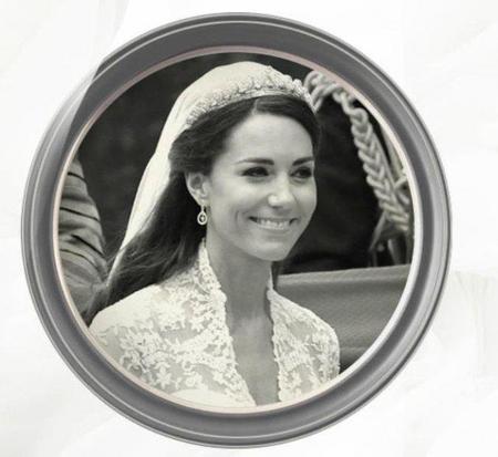 The Halo Tiara, la tiara de diamantes que lució Kate Middleton en su boda