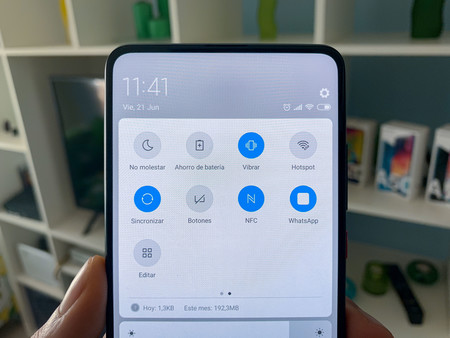 Barra notificaciones Android