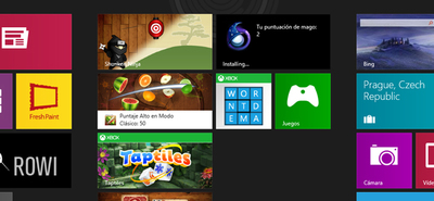 Windows 8, Xbox Live y juegos