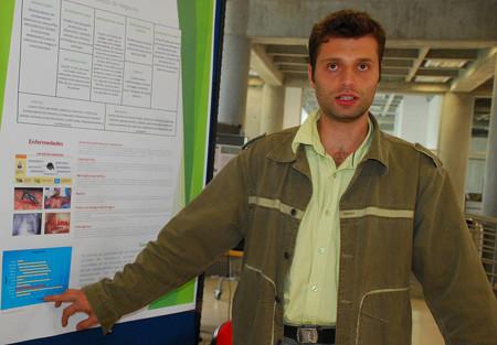 Estudiante John Cristian Aguirre