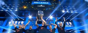 Astralis conquista las finales de la ESL Pro League, el Grand Slam y el CSGO mundial