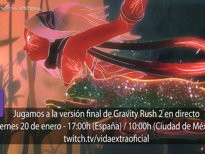 Streaming de Gravity Rush 2 hoy a las 17:00h (las 10:00h en Ciudad de México) [finalizado]