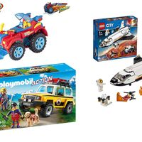 Chollos de juguetes en Amazon: sets de SuperZings, Playmobil o Lego rebajados por menos de 25 euros