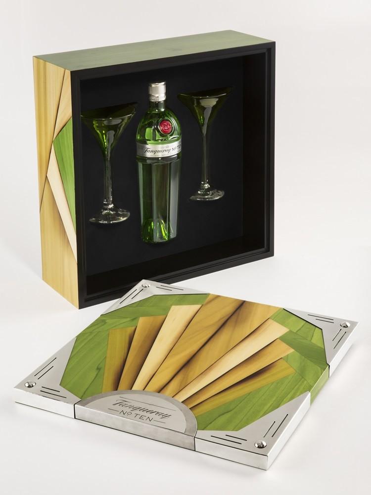 Un cofre Tanqueray diseñado por Juan Duyos