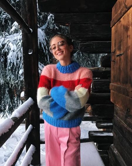 Clonados y pillados: si sigues soñando con el jersey a rayas de Ganni, ahora puedes lucirlo por muchísimo menos