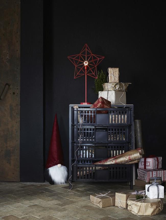 Ikea Coleccion Navidad 2017 Ph146315 Vassad Modilo Cajas Acero Gris Oscuro Chapa Fresno Lowres