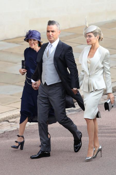 Robbie Williams Princess Eugenie Of York Marries Mr Jack Brooksbank
