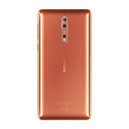 Nokia 8 Polished Copper 2
