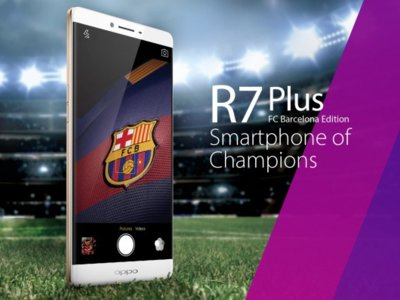 Oppo R7 Plus FC Barcelona Limited Edition presentado oficialmente