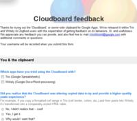 Google Cloudboard