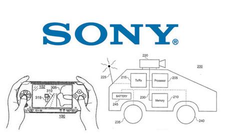 ¿Un coche espía controlado mediante una PSP? La nueva patente de Sony